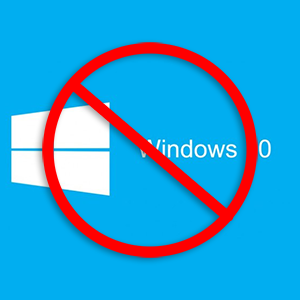 No to Windows 10